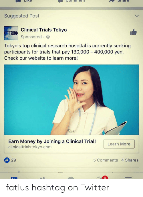 Suggested Post Clinical Trials Tokyo Al TOKYO Sponsored