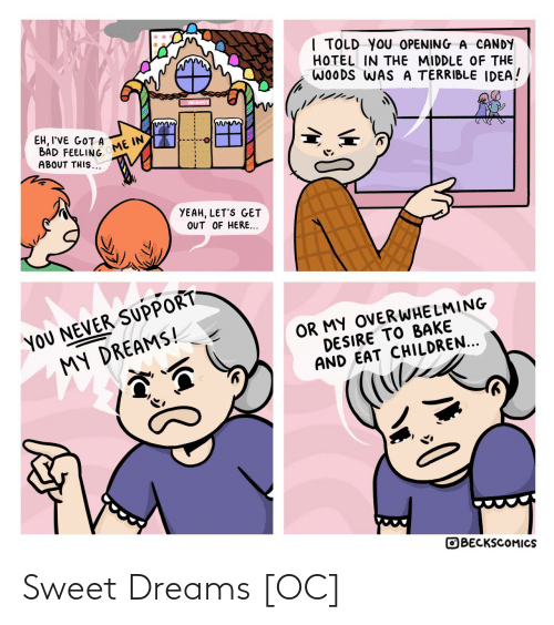 sweet: Sweet Dreams [OC]
