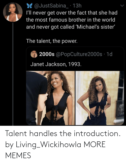 talent: Talent handles the introduction. by Living_Wickihowla MORE MEMES