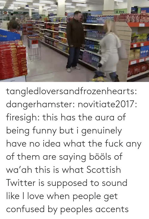 no idea: tangledloversandfrozenhearts: dangerhamster:  novitiate2017:  firesigh:  this has the aura of being funny but i genuinely have no idea what the fuck any of them are saying  bööls of wa'ah  this is what Scottish Twitter is supposed to sound like  I love when people get confused by peoples accents