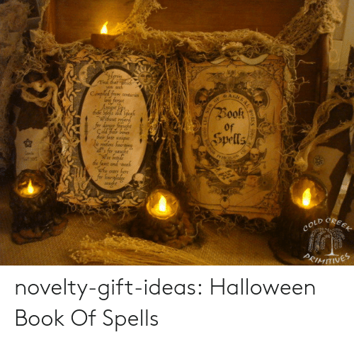 Bones, Halloween, and Ted: Ted tatphid  you seek  BAnKRAL  Compiled from conturies  forgee  Book  Wihwut reed  for danger frugbe  Çald rar bones  ार tr  ie rostless faoig  s for naught  We betide  de famt and-neah  whe otr hore  for Sonergladige  soughe  Spells  CREEK  COLD  PRIMITINES  dle novelty-gift-ideas:  Halloween Book Of Spells