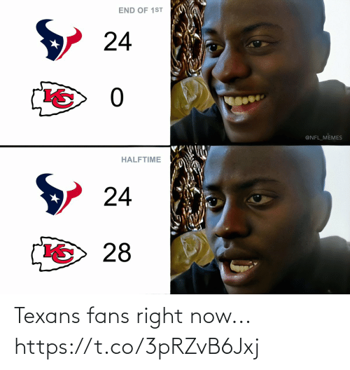 right: Texans fans right now... https://t.co/3pRZvB6Jxj