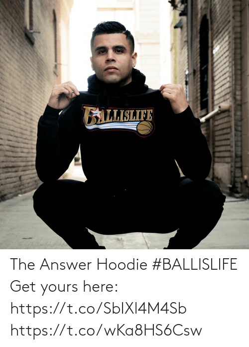 The Answer: The Answer Hoodie #BALLISLIFE   Get yours here: https://t.co/SbIXl4M4Sb https://t.co/wKa8HS6Csw