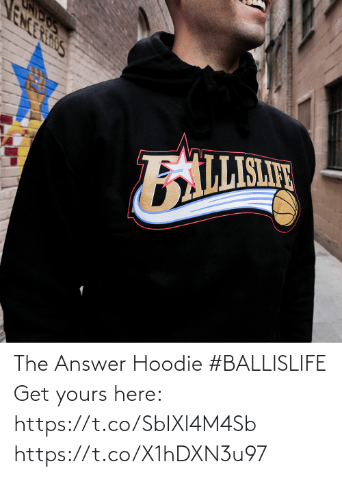 The Answer: The Answer Hoodie #BALLISLIFE   Get yours here: https://t.co/SbIXl4M4Sb https://t.co/X1hDXN3u97