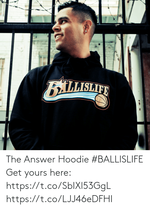 The Answer: The Answer Hoodie #BALLISLIFE   Get yours here: https://t.co/SbIXl53GgL https://t.co/LJJ46eDFHI