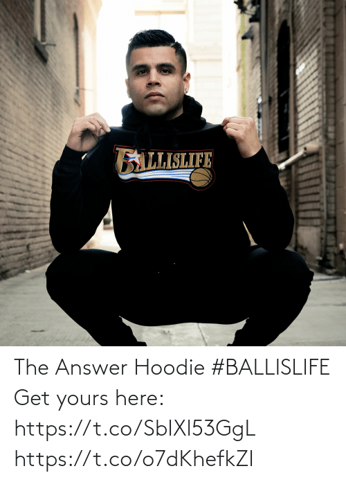 The Answer: The Answer Hoodie #BALLISLIFE   Get yours here: https://t.co/SbIXl53GgL https://t.co/o7dKhefkZI