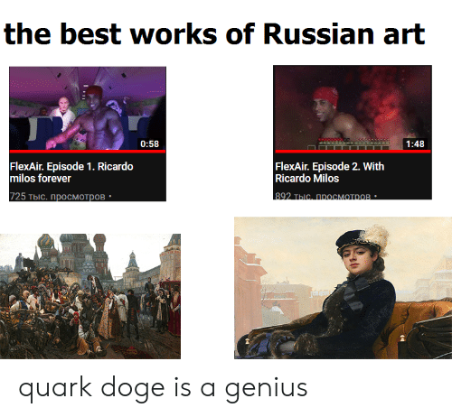 The Best Works of Russian Art 058 148 FlexAir Episode 1