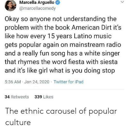 culture: The ethnic carousel of popular culture
