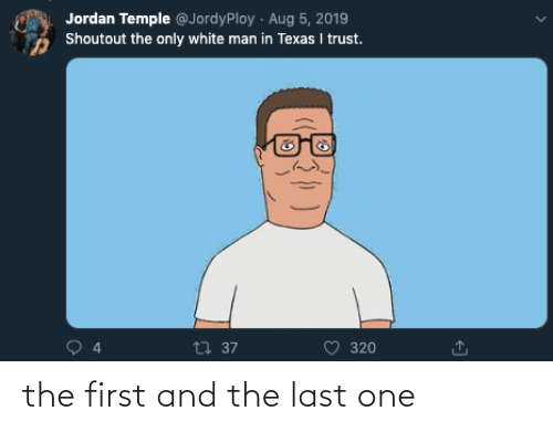 first: the first and the last one