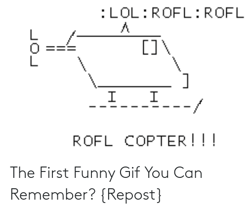 gif: The First Funny Gif You Can Remember? {Repost}