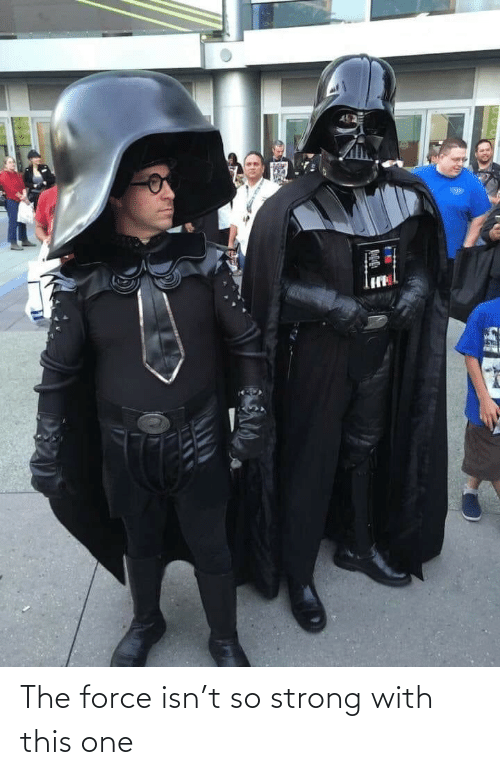 force: The force isn't so strong with this one