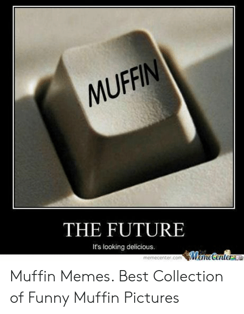 The FUTURE It's Looking Delicious Muffin Memes Best