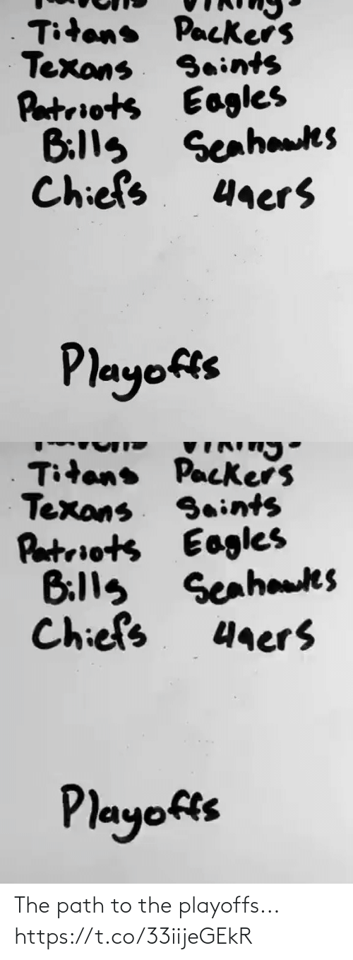 NFL: The path to the playoffs... https://t.co/33iijeGEkR