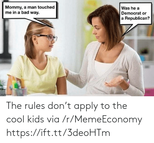 Rules: The rules don't apply to the cool kids via /r/MemeEconomy https://ift.tt/3deoHTm