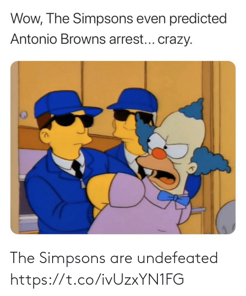 Are: The Simpsons are undefeated https://t.co/ivUzxYN1FG