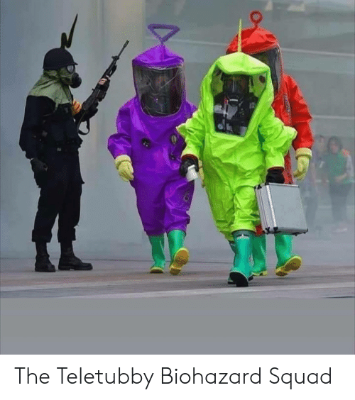 Squad, Biohazard, and Teletubby: The Teletubby Biohazard Squad