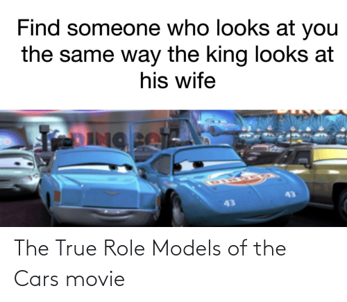 Movie: The True Role Models of the Cars movie