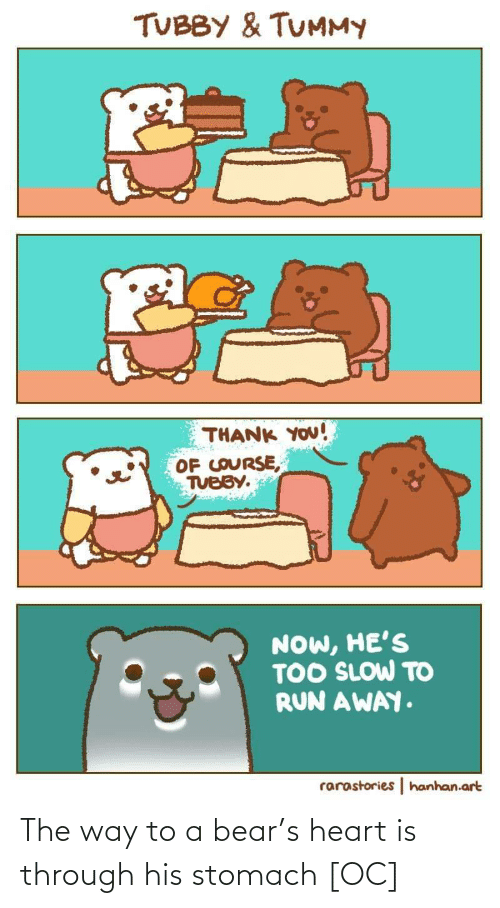the way: The way to a bear's heart is through his stomach [OC]
