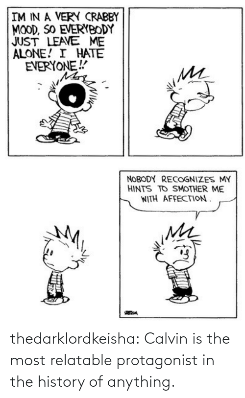 tumblr: thedarklordkeisha: Calvin is the most relatable protagonist in the history of anything.