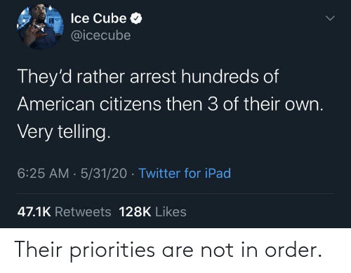Are Not: Their priorities are not in order.