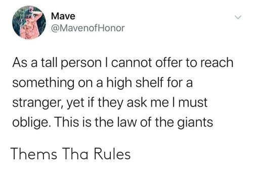 Rules: Thems Tha Rules