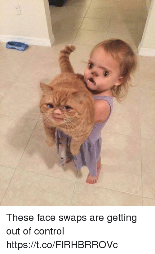 swaps: These face swaps are getting out of control https://t.co/FlRHBRROVc