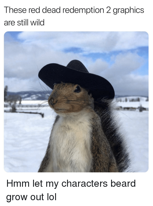 Beard, Lol, and Reddit: These red dead redemption 2 graphics  are still wild