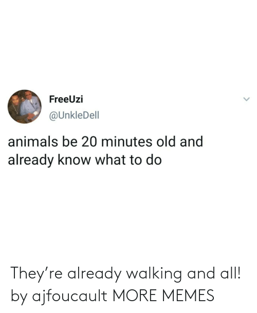 already: They're already walking and all! by ajfoucault MORE MEMES