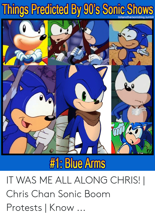 Things Predicted by 90's Sonic Shows