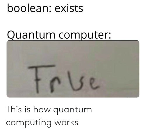 this is: This is how quantum computing works