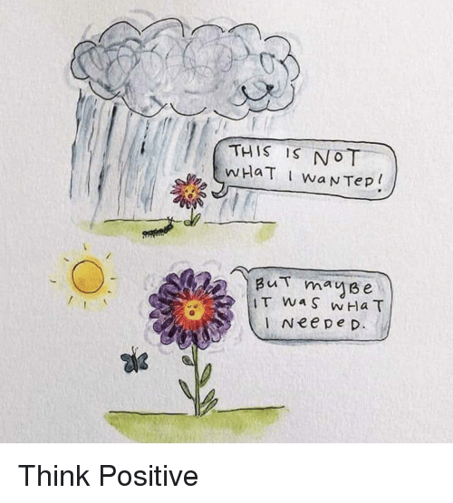 Think, This, and This Is: THIS IS NOT  Bu mause  I Nee pe p Think Positive
