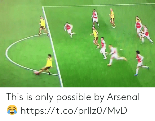 soccer: This is only possible by Arsenal 😂 https://t.co/prlIz07MvD