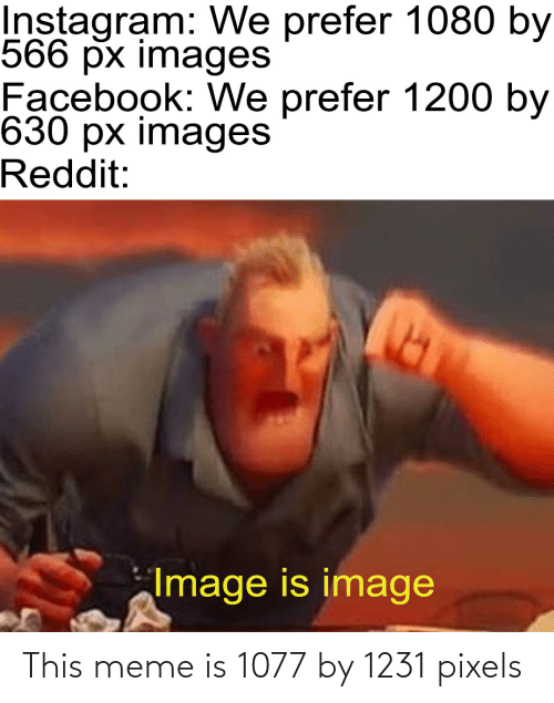 Meme, Pixels, and This: This meme is 1077 by 1231 pixels