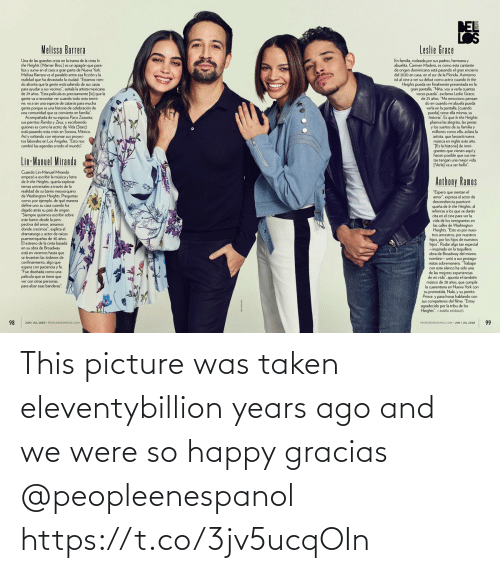Taken: This picture was taken eleventybillion years ago and we were so happy gracias @peopleenespanol https://t.co/3jv5ucqOIn