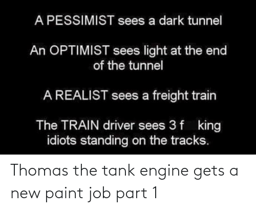 Part: Thomas the tank engine gets a new paint job part 1