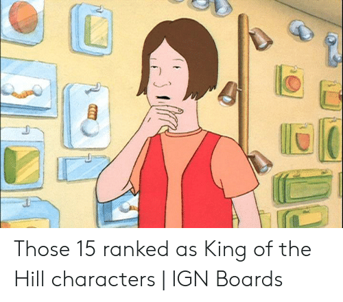 🐣 25+ Best Memes About King of the Hill Characters | King