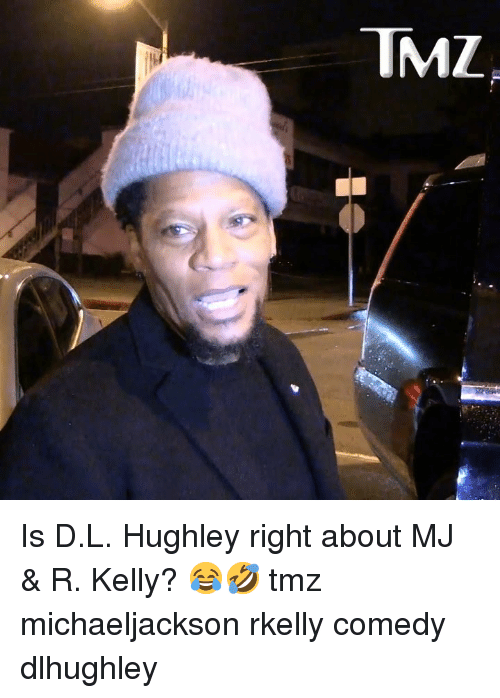 R. Kelly: TMZ Is D.L. Hughley right about MJ & R. Kelly? 😂🤣 tmz michaeljackson rkelly comedy dlhughley