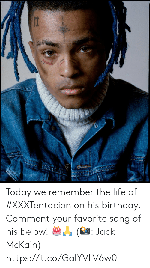 Birthday: Today we remember the life of #XXXTentacion on his birthday. Comment your favorite song of his below! 🎂🙏 (📸: Jack McKain) https://t.co/GalYVLV6w0