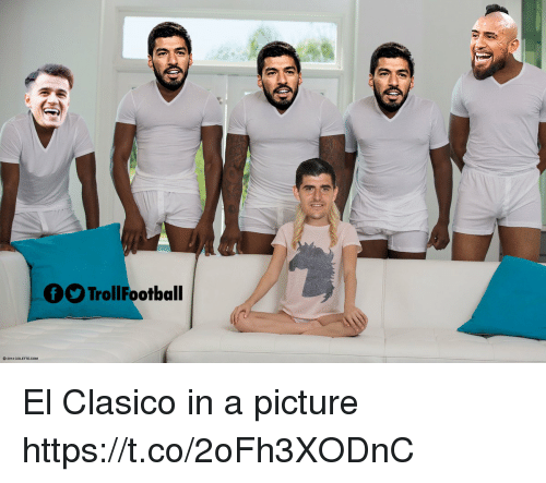 clasico: TrollFootball El Clasico in a picture https://t.co/2oFh3XODnC