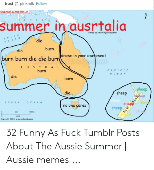 Map Of Australia Funny.Trust Pinkmlk Follow Oceania Australia Summer In Ausrtalia A Map By