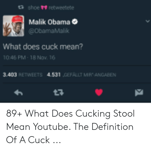what is cucked mean