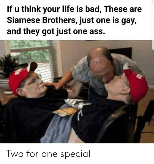 two: Two for one special