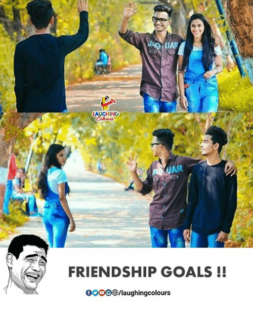 Goals, Friendship, and Indianpeoplefacebook: UAR  LAUGHING  FRIENDSHIP GOALS !!  0OOO/laughingcolours
