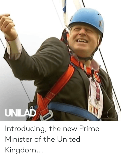 kingdom: UNILAD Introducing, the new Prime Minister of the United Kingdom...