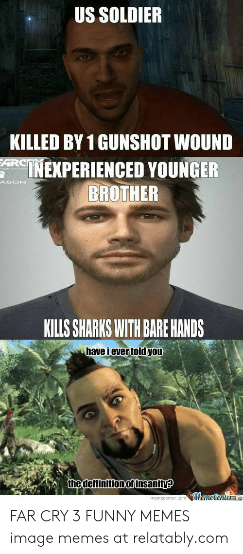 25 Best Memes About Far Cry 3 Like Skyrim With Guns Meme Far Cry 3 Like Skyrim With Guns Memes