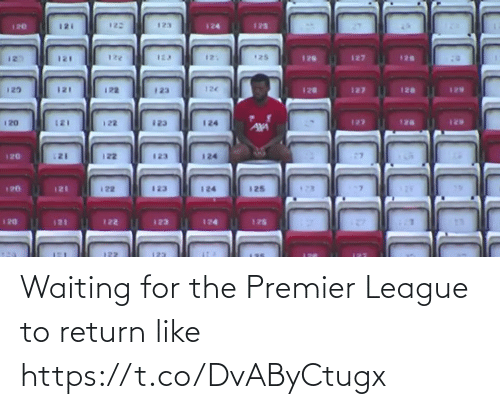 Waiting...: Waiting for the Premier League to return like https://t.co/DvAByCtugx