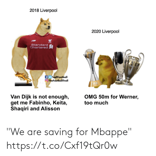 """🤖: """"We are saving for Mbappe""""  https://t.co/Cxf19tQr0w"""
