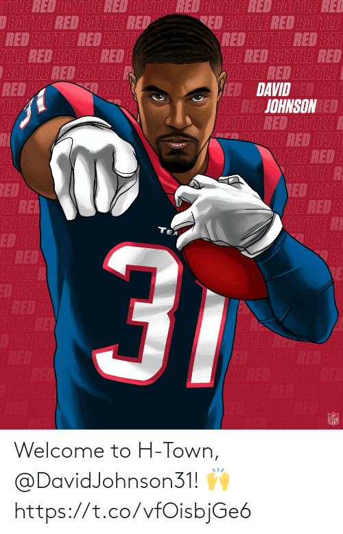 H: Welcome to H-Town, @DavidJohnson31! 🙌 https://t.co/vfOisbjGe6