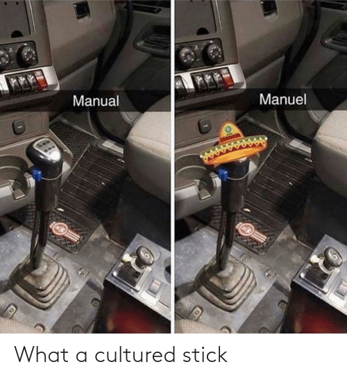 what: What a cultured stick