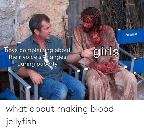 About: what about making blood jellyfish
